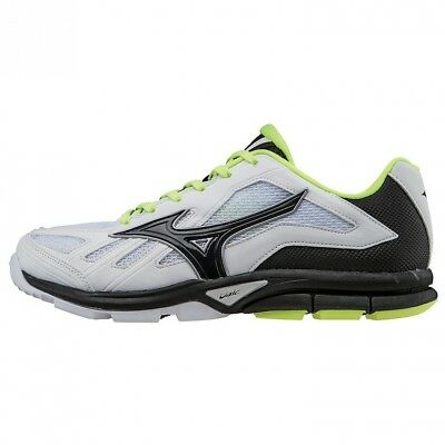 (7 B(M) US, White/Black) - Mizuno Women's Players Training Shoe. Best Price