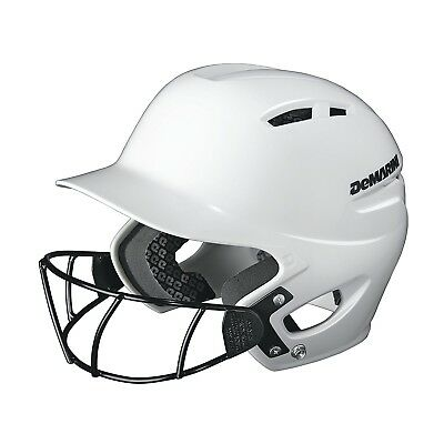 (Youth (6 ½ and below), White) - DeMarini Paradox Protege Pro Batting Helmet