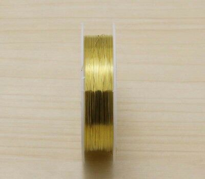 NEW 23M Gold Special Copper Wire craft wire bead wrap jewelry making