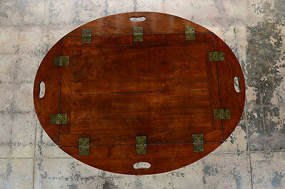 18th century Georgian Mahogany Buttler's Tray table w/stand