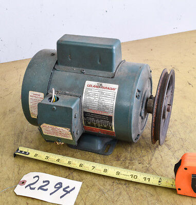 Electric Motor; 1 HP; Leland-Faraday (CTAM #2294)