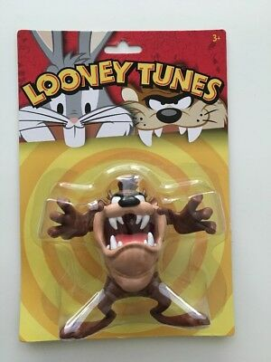 New Taz Tasmanian Devil Looney Tunes Bendable Figure Toy Collectable Character
