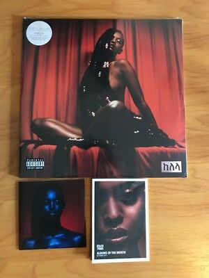 Kelela Take Me Apart Neon Orange Vinyl Rough Trade Poster Lyric Book Bonus CD