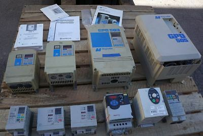 Lot Inverter Variable Frequency Drives -  MAGNETEK A-B Powerflex OMRON Sumitomo