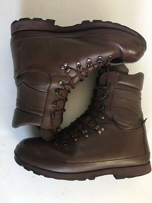British Army Issue Altberg Combat Boots Size 12m