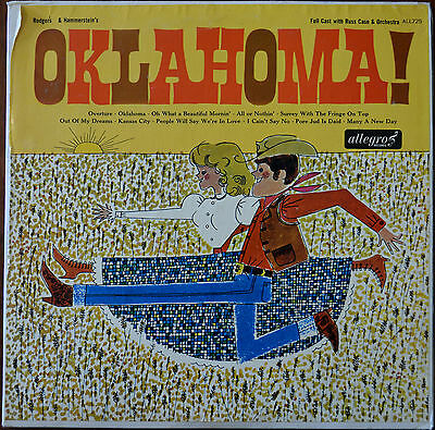 Rodgers & Hammerstein – Oklahoma! LP – ALL725 – VG
