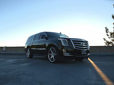 2016 Cadillac Escalade Twin Turbo Intercooled with Methanol Injection TWIN-TURBO 2016 Cadillac Escalade ESV