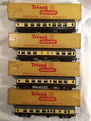 Tri-ang TT 3 Scale Coaches Pack Of Four