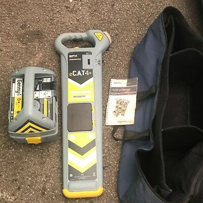 Radiodetection Cat4+ cable Avoiding Genny spx E Cat 4 Plus cable locator