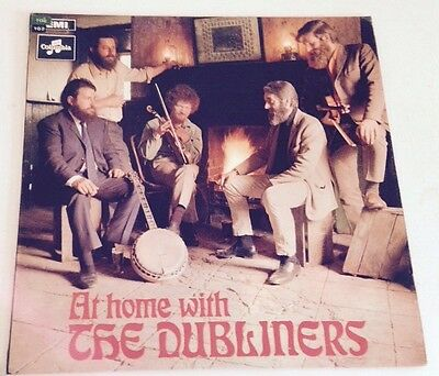 At Home With The Dubliners Lp