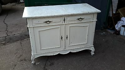 19th century marble topped sidebiard