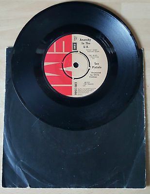 "Sex Pistols 7"" Anarchy In The Uk Emi Chris Thomas B Side  Punk Clash Oi Rare"