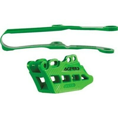 Acerbis 2.0 Chain Guide And Slide Kits Green 2449450006
