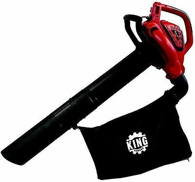 King Canada Tools 8500BVM 3-IN-1 VARIABLE SPEED BLOWER/VACUUM/MULCHER gardening