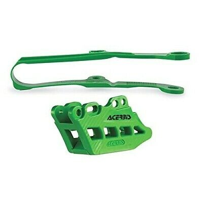 Acerbis 2.0 Chain Guide And Slide Kits Green 2466040006