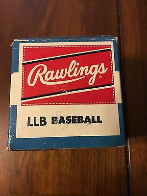 Rawlings's Official Little League Baseball, new in box