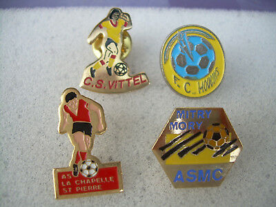 pin's football vittel   mitry mory