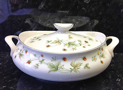 "Royal Doulton ""Strawberry Cream"" Pattern Lidded Tureen."