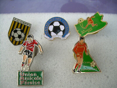 pin's football  CLUBS PICARDIE  CAPPY   CHATEAU THIERRY  BEAUVAIS