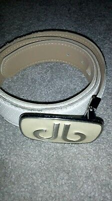 Druh Belt White with Buckle
