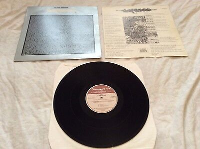 """Carcass """"The Peel Sessions"""" original 1989 Lp and insert."""