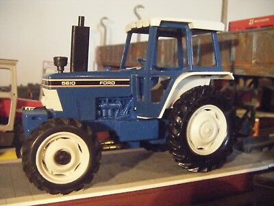 britains ford 5610 tractor 1/32 farm toys play worn