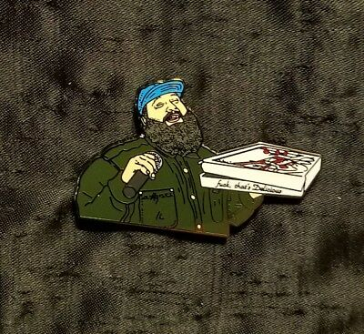 Action Bronson Pin hip hop American rapper rap music NY hatpin festivals