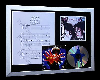 THE CURE The Lovecats LTD NOD QUALITY CD FRAMED DISPLAY+EXPRESS GLOBAL SHIP!!