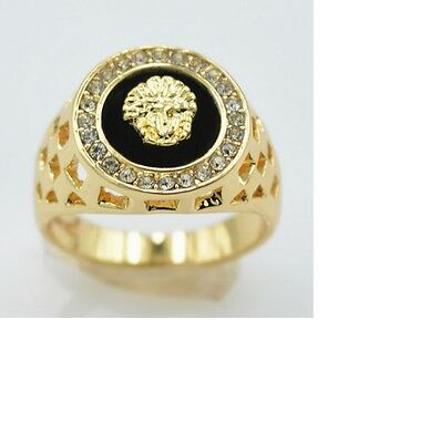 Elvis style Gold Colour Concert Style Ring