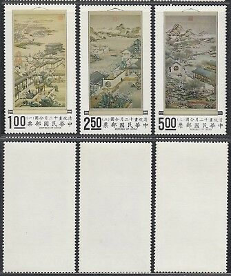 Taiwan 1971 - Mint never hinged stamps (MNH). Mi Nr.: 804-806....... A7500