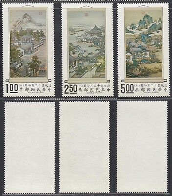 Taiwan 1971 - Mint never hinged stamps (MNH). Mi Nr.: 821-823....... A7501