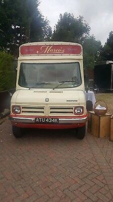 1971 Bedford CF Ice Cream Van