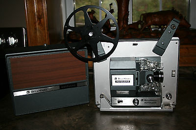 Bell & Howell Autoload 8mm Movie Reel Projector Silent Movie model 3572 EATONS