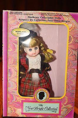 Vintage Doll The New Bright Collection Bookcase Collectable Doll Scotland