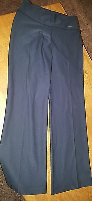 NWOT Womens NIKE Dri-Fit Black Athletic Yoga Boot Pants Size Small