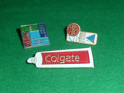 Pins Epinglette x 3 New Man Colgate & Williams