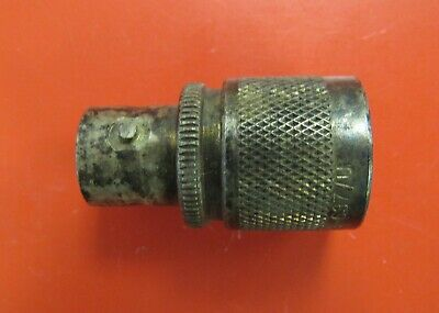 CANS Type C (f) to UHF (m) RF Coaxial Connector Adapter UG-637/U