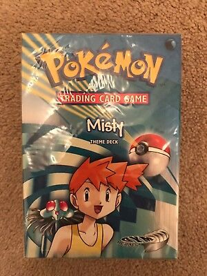 Pokemon Cards - Gym Heroes Misty Deck (Sealed, Mint Condition) Original