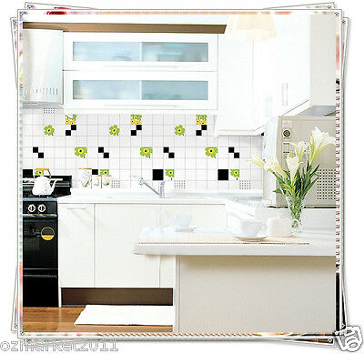 Flower  Mosaic Modern Customized Waterproof Environmental Oil-proof Wallpaper