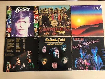 INSTANT RECORD COLLECTION – 10kg of 12 inch vinyl records job lot! 39 records