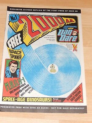2000 AD No 1 Replica of the 1st prog of 2000 AD Comic, 16 pages