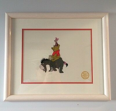 Rare Walt Disney Serigraph Winnie The Pooh And The Blustery Day Limited Edtiion