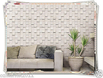 Modern Customized Antique White Waterproof Environmental Oil-proof Wallpaper