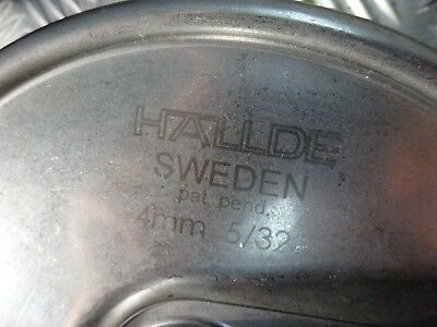 Hallde Sweden 4Mm  5/32 For Hobart  £70 Free Post