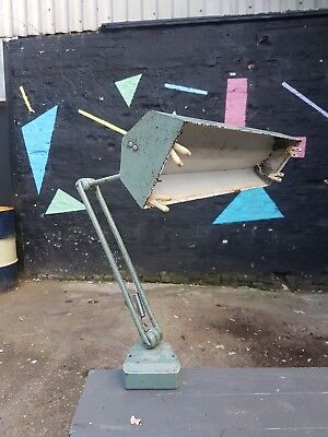 Vintage Industrial Adjustable Linolite Light - Anglepoise Lamp