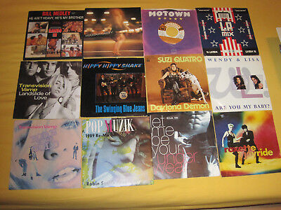 80 Single 70 er und 80er Jahre ROCK POP DANCE  Singles NENA SAMANTHA FOX QUATRO