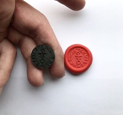 Lovely Medieval Bronze Seal Matrix - Unresearched