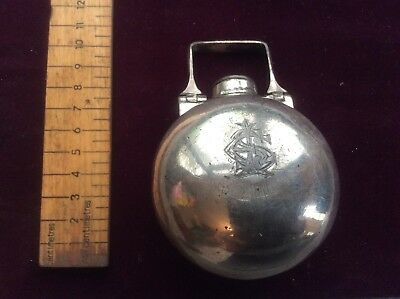 victorian Ladies Muff Warmer Silver Plated