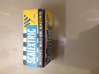 Vintage Triang Scalextric C69 Ferrari blue dot (Original Box And Inner Only)