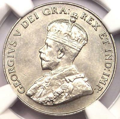 1933 Canada George V 5 Cent Piece (5C Coin) - NGC MS65 -  $3,450 Value in MS65